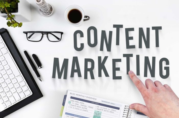 Le content marketing en deux mots